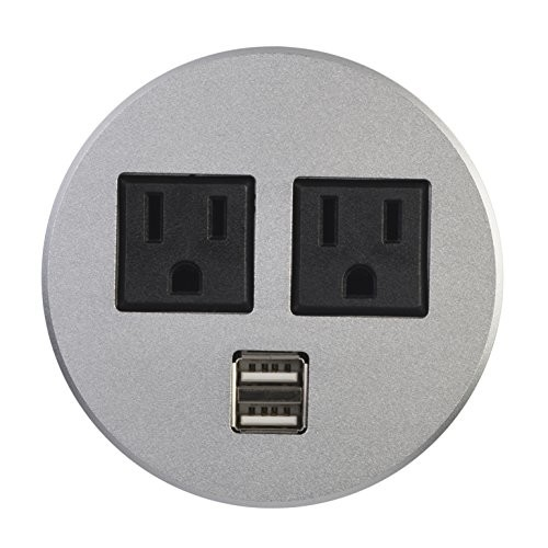 High Safety Round Power Socket , Round Receptacle Outlet Automatically Ectronics Protection